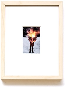 """untitled, from the series """"burning news"""" by tim parchikov"""
