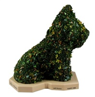 hecho a mano - flower puppy by jeff koons