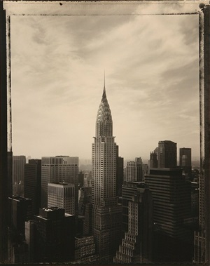 chrysler building, new york by tom baril