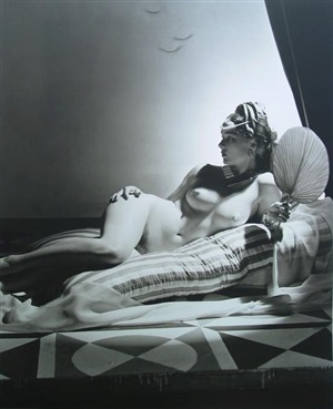odalisque i by horst p. horst