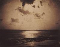 effet de soleil--océan--no.23 by gustave le gray