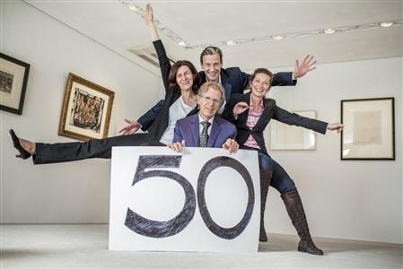 50 jahre . leben mit der kunst