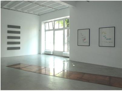 installation view galerie konrad fischer berlin