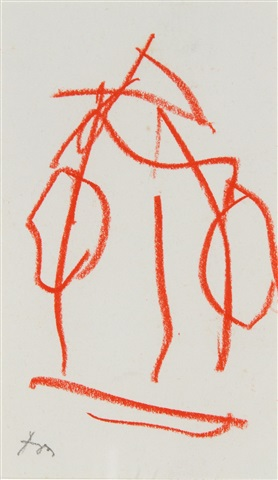 untitled (from the joyce sketchbook) by robert motherwell