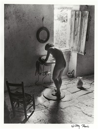 le nu provencal, gordes by willy ronis