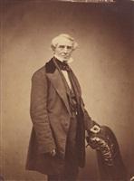portrait of samuel b. morse by mathew b. brady