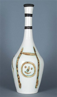 bouteille gravée (engraved bottle) by pablo picasso