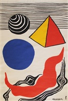 la vague rouge by alexander calder
