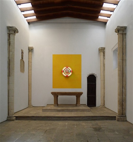 to breathe: mandala (installation view, kewenig, palma de mallorca)) by kimsooja