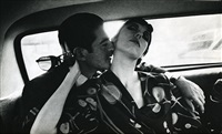 irving blum and peggy moffitt by dennis hopper