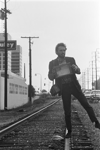untitled (los angeles tracks) by dennis hopper