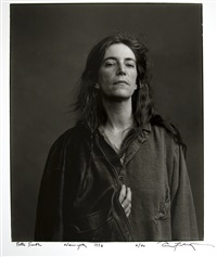 patti smith, new york city by annie leibovitz
