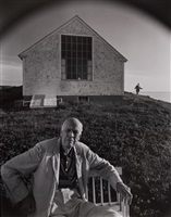 edward hopper and jo, truro, ma by arnold newman