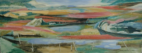 salt marsh in autumn by marguerite thompson zorach