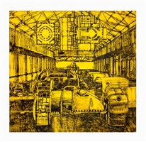 untitled (yellow generator room) by matt mullican