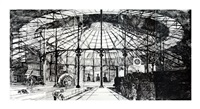 untitled (roundhouse) by matt mullican
