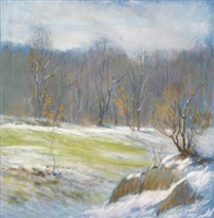 winter rocky landscape by william partridge burpee