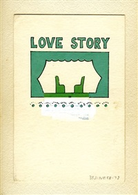 untitled (love story) by joe brainard