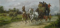 full gallop for the mail coach by george wright