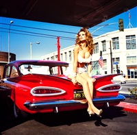 big in america (claudia schiffer), nashville by ellen von unwerth