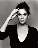 cindy crawford (italian vogue), london by michel comte