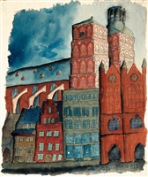 stralsund by carl grossberg