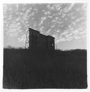 a house on a hill, hollywood, ca by diane arbus