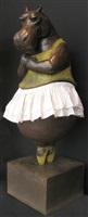 hippopotamus ballerina ii by bjorn skaarup