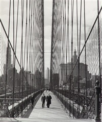 the brooklyn bridge by andreas feininger