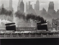 the united states setting sail by andreas feininger
