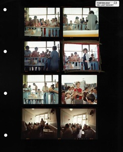 magnum contact sheets at milk gallery by martin parr