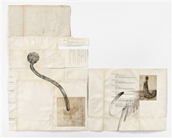 renaissance object, drawings #1249, 1250 & 1251 by james drake