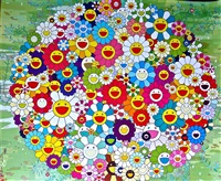 open your hands wide (versailles) by takashi murakami