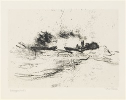 schlepper (mtl.) by emil nolde