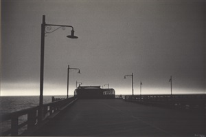 pier, new york by ilse bing