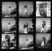 france. st. tropez. 1955. brigitte bardot at her seaside villa