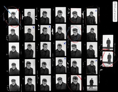 magnum contact sheets at milk gallery by dennis stock