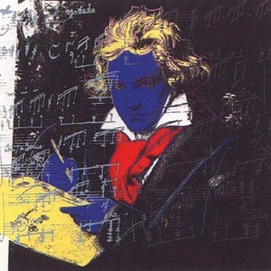 beethoven fs# 390 by andy warhol