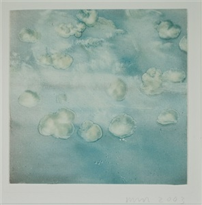 a square of blue clouds by wendy mark