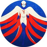 heroes r-1 by yoshitaka amano