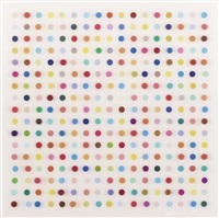 mescaline lenticular by damien hirst