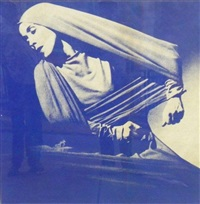 lamentation unique by andy warhol