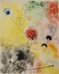 la funambule by joan miró