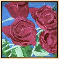 red roses by alex katz