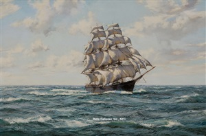 the lightning by montague dawson
