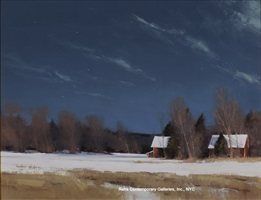 grant township farm by moonlight by ben bauer