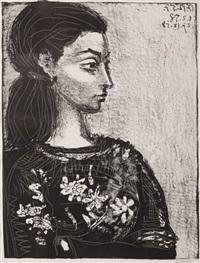 b0847 femme au corsage by pablo picasso