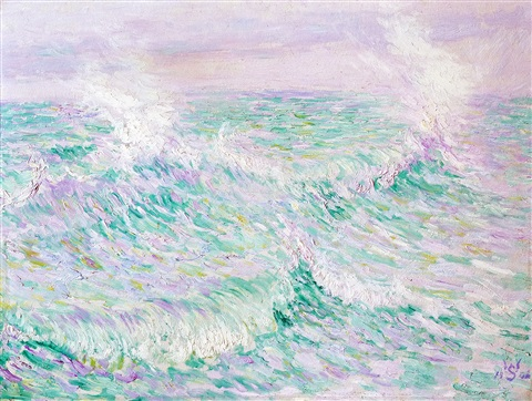breakers (les vagues) by willy schlobach