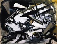 gris-noir by edouard pignon