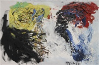 deux mondes by karel appel